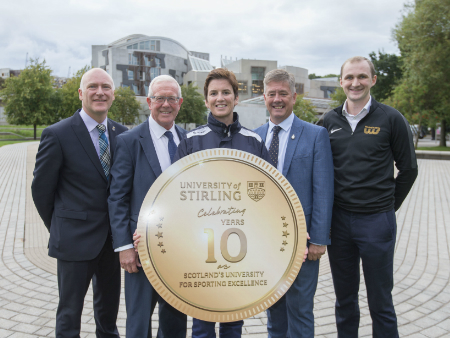 Stirling's sporting success celebrated in parliamentary debate