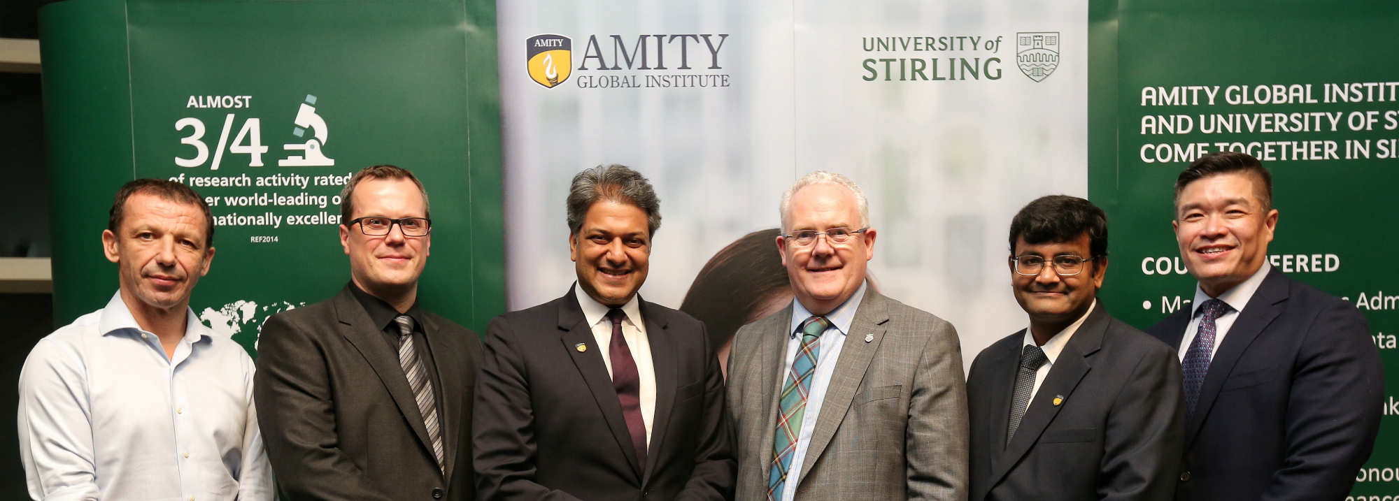 Partnership between University and Amity Global Institute announced