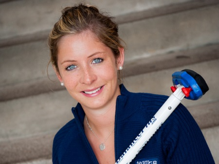 Stirling students to celebrate alongside Olympic curler at Inverness graduation