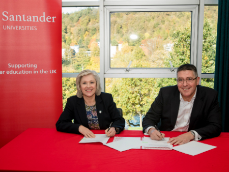 Stirling renews partnership with Santander