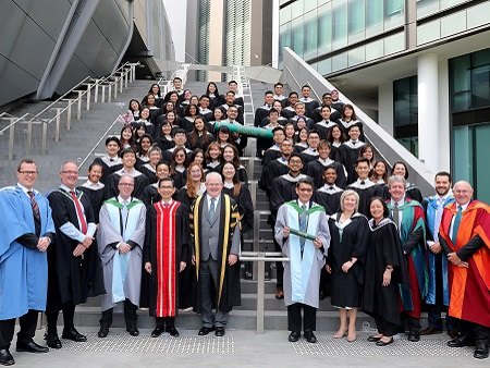 Singapore ceremony recognises Stirling's newest graduates