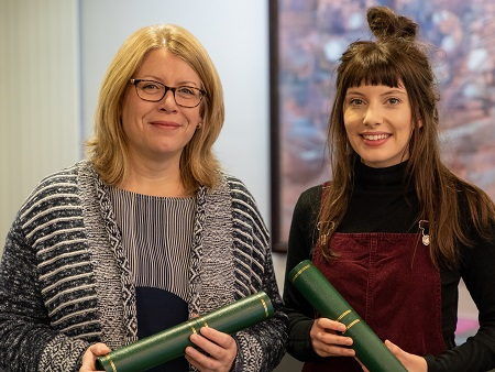 Professional recognition for top Accountancy and Finance students