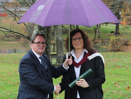 MBA student recognised for leadership skills