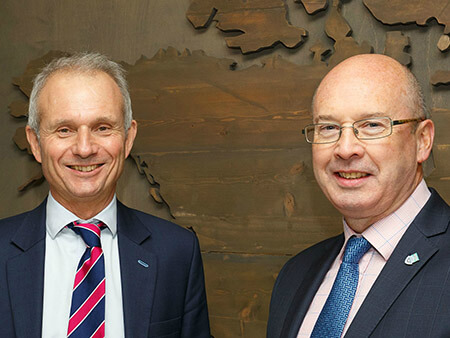 UK Cabinet minister visits University of Stirling