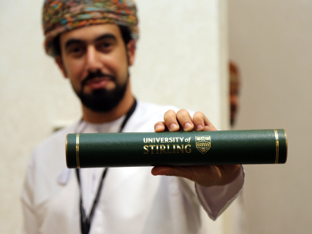 Celebrations as 106 graduate with Stirling degrees in Oman