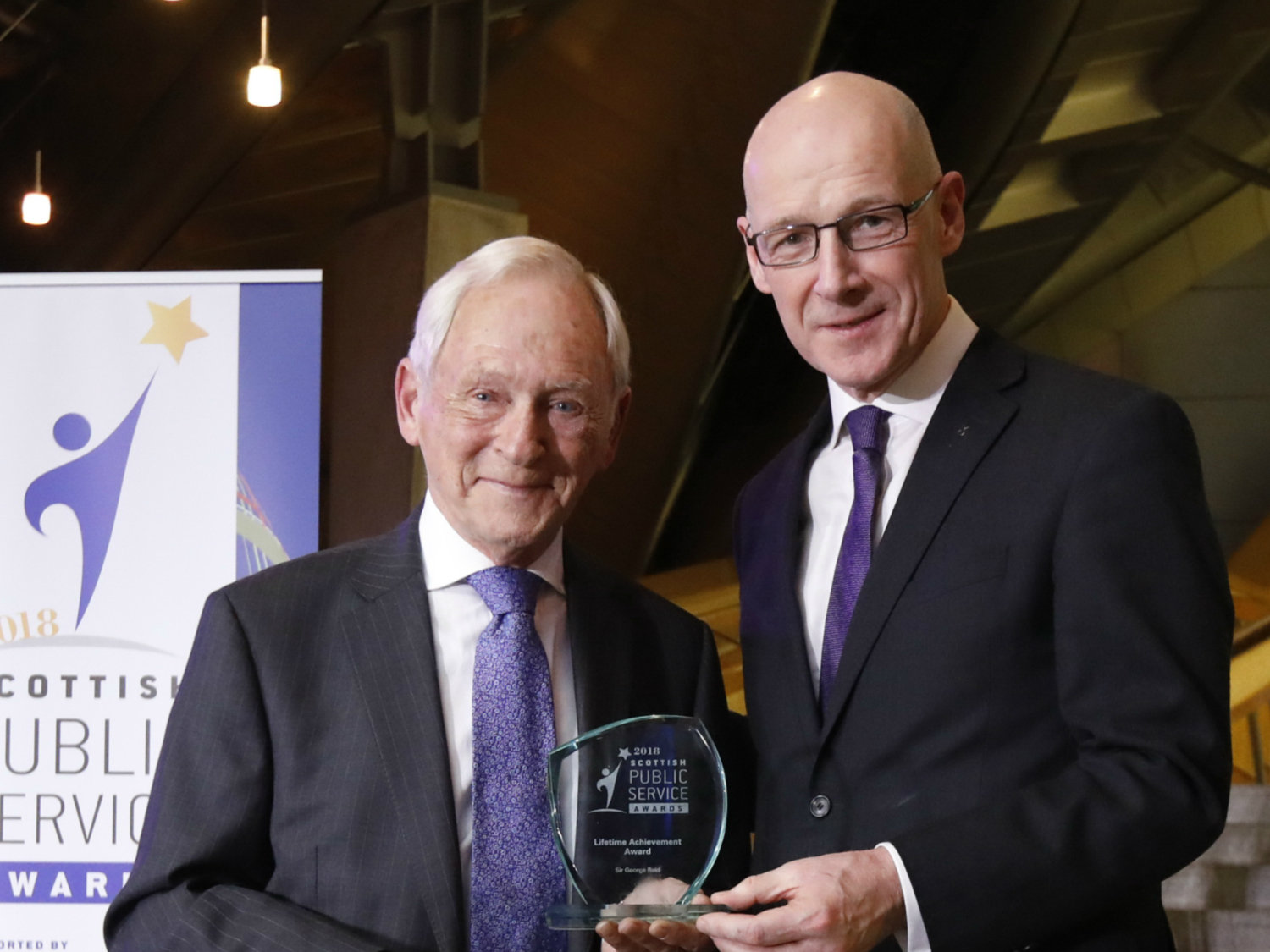 Lifetime achievement award for Sir George Reid
