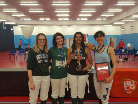 Stirling fencers show their metal to claim BUCS Trophy