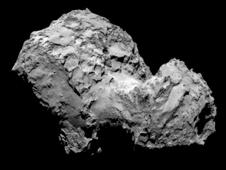 Study sheds new light on the structure of comets