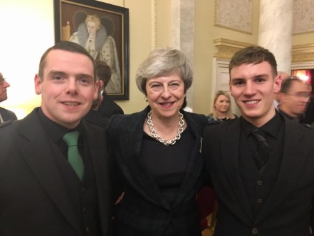 From Ben Nevis to Downing Street: Student's charitable work recognised