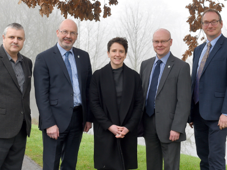Minister visits Stirling to hear about innovative research