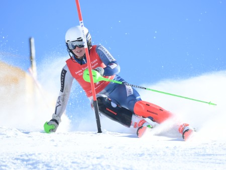 Stirling student on the podium at Welsh skiing champs