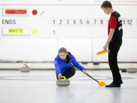 Stirling trio take to the ice for World University Winter Games