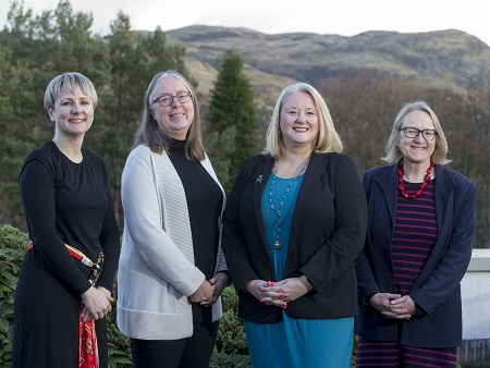 Scottish Minister learns about University's work on ageing and dementia