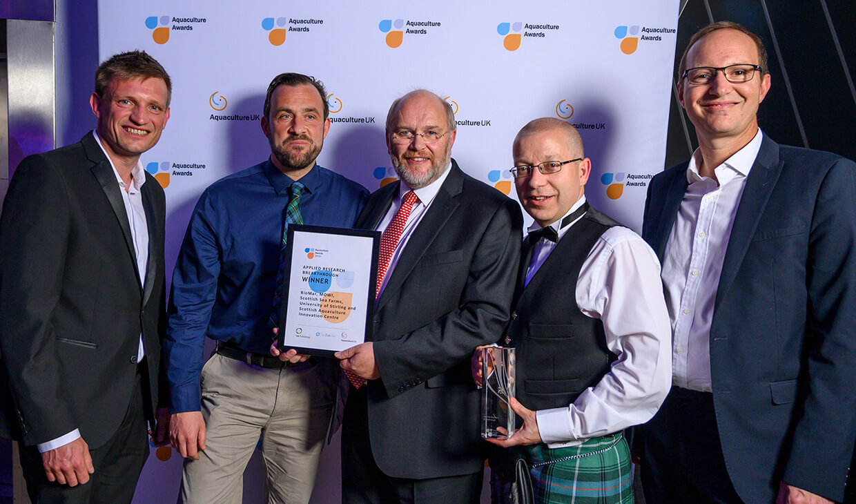 Top award win for world-leading aquaculture institute