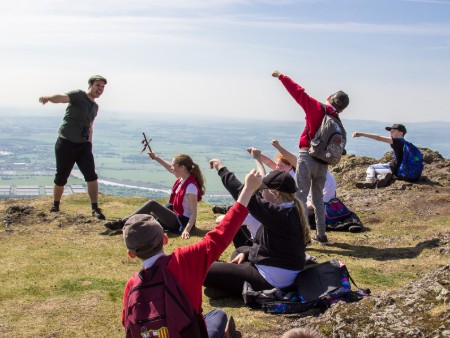 University supports live storytelling event on Dumyat