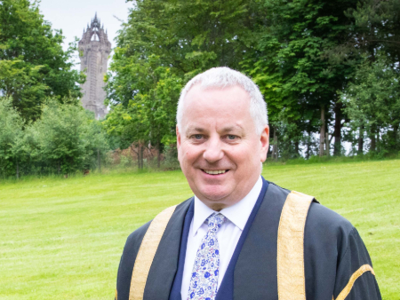 Lord McConnell installed as University of Stirling Chancellor