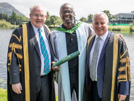 World Cup star and distinguished CEOs celebrated by Stirling