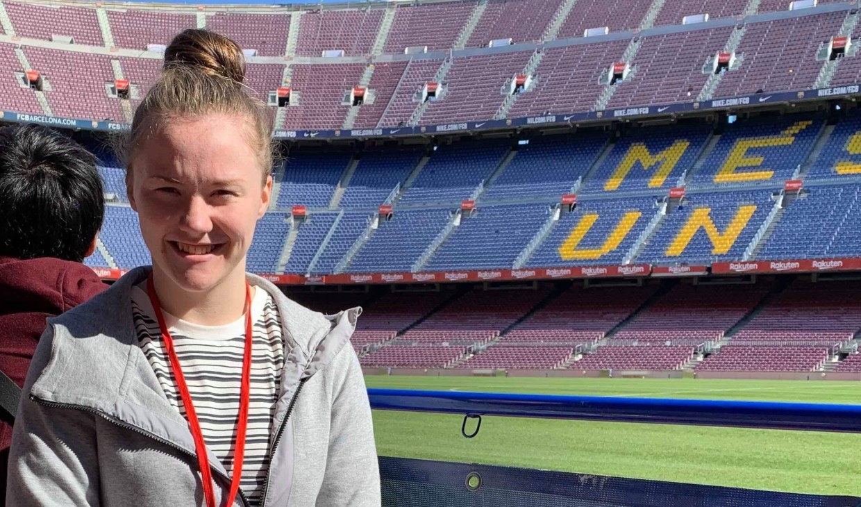 e4c0c54484d Chloe Logan described her trip to Barcelona with Santander UK as