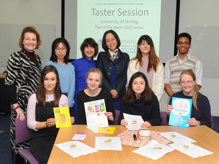 Student teachers get Japanese taster in a bid to boost language learning