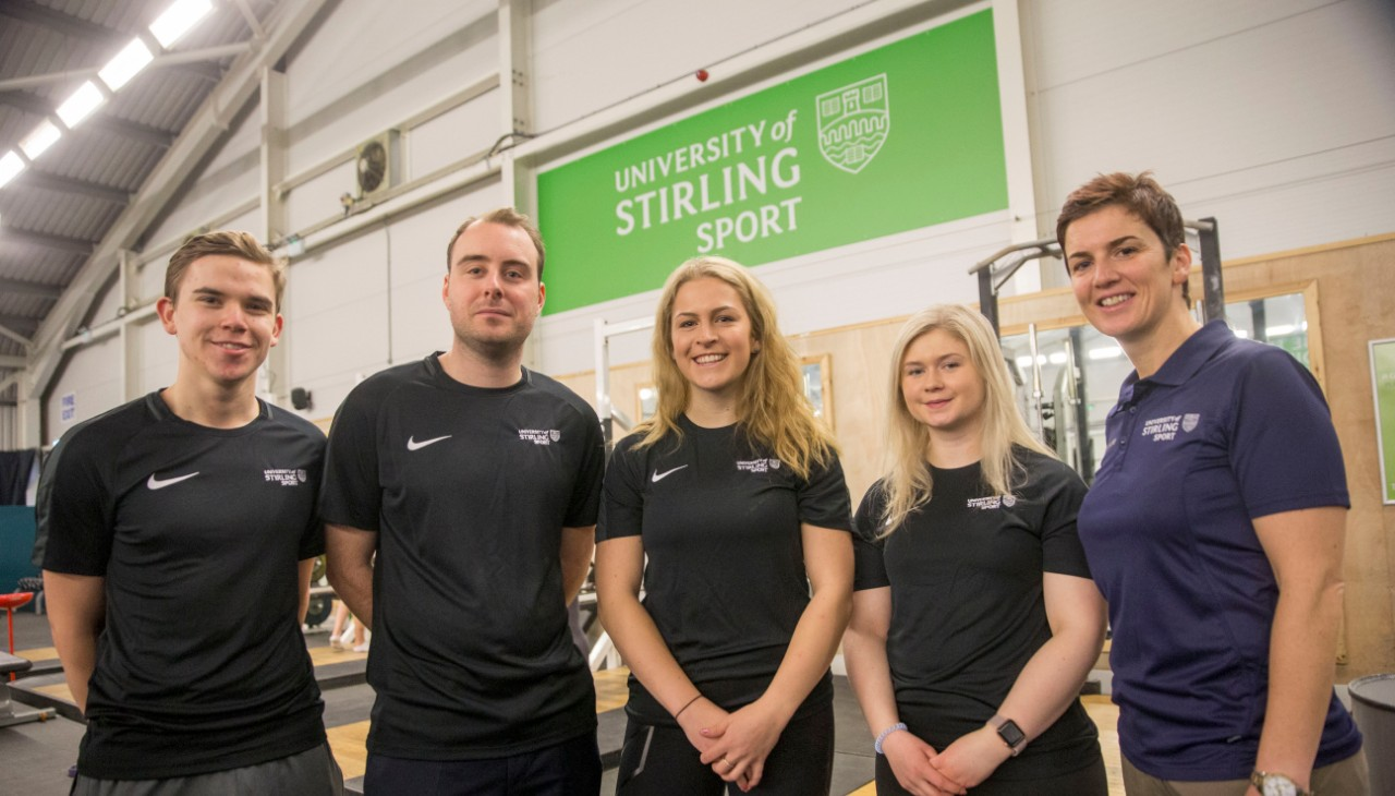 University of Stirling representatives going to World University Winter Games