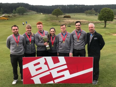 Back-to-back British titles for Stirling golfers