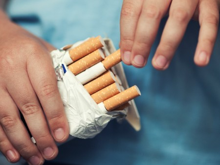 Smoking risk in children has fallen since tobacco display ban