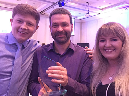 Student journalism success for Stirling