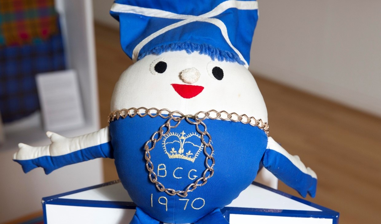 Team Scotland's first mascot, from 1970
