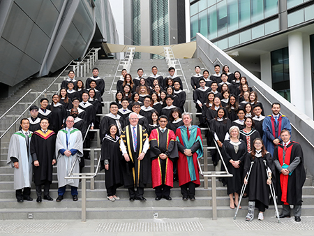 Stirling graduates celebrated in Singapore