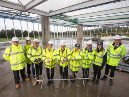 Sport facilities hit new heights at the University of Stirling