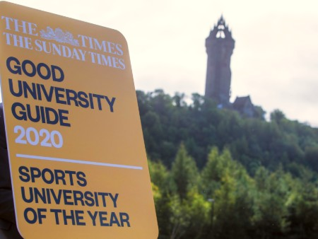 Stirling crowned UK Sports University of the Year