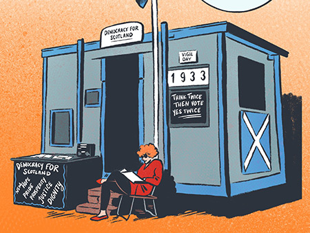 Graphic novel illustrating history of Scottish Parliament backed by crowdfunding campaign