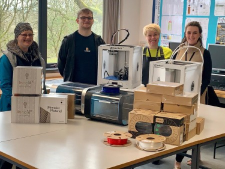 University donates 3D printers to support COVID-19 response