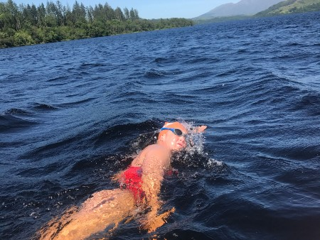 Lecturer to swim 7 lochs to raise funds for students hit by COVID-19