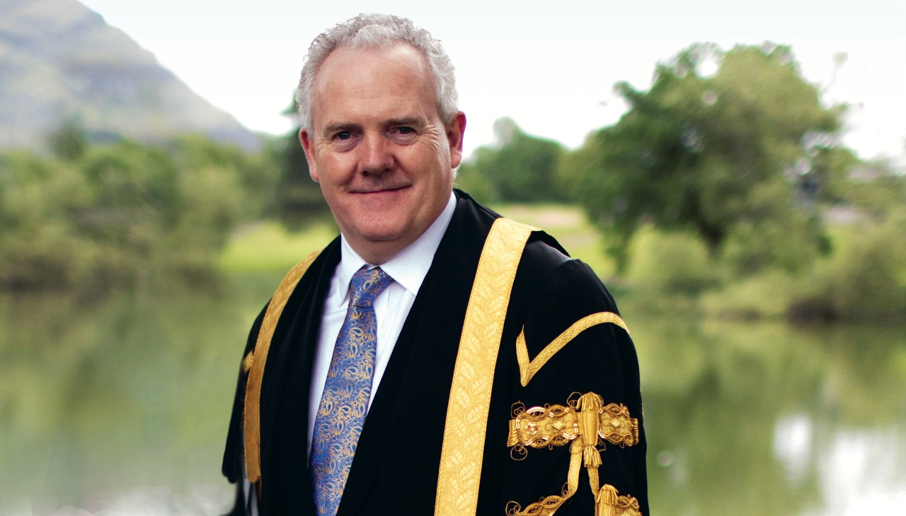 Principal and Vice-Chancellor, Professor Gerry McCormac