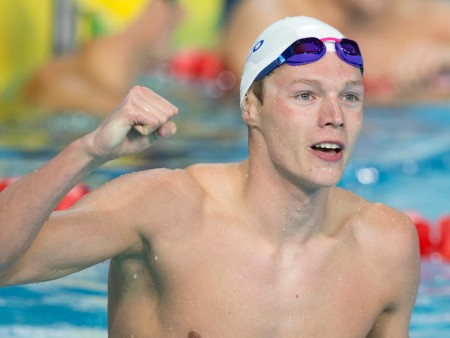 University of Stirling swimmer scoops top UK award