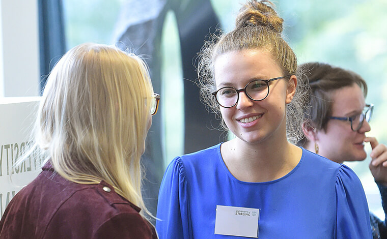 Careers networking event at University of Stirling