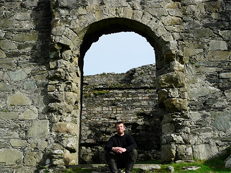 Image to accompany Scottish medieval castles and chapels C-14 project event