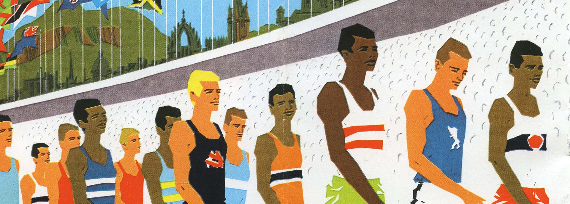 Commonwealth games poster