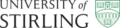 Image of the University of Stirling logo