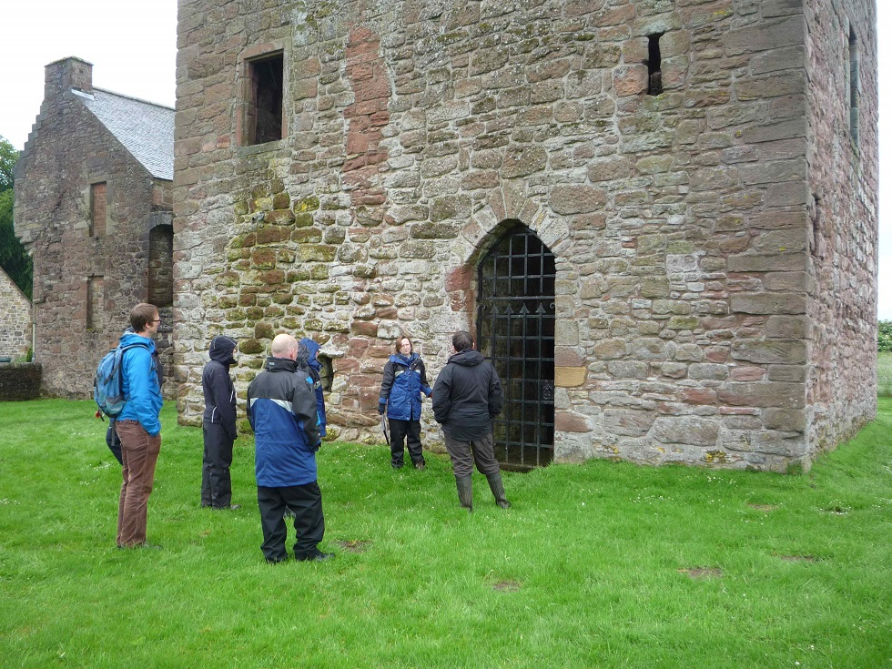Image of Restoration at Burleigh Castle