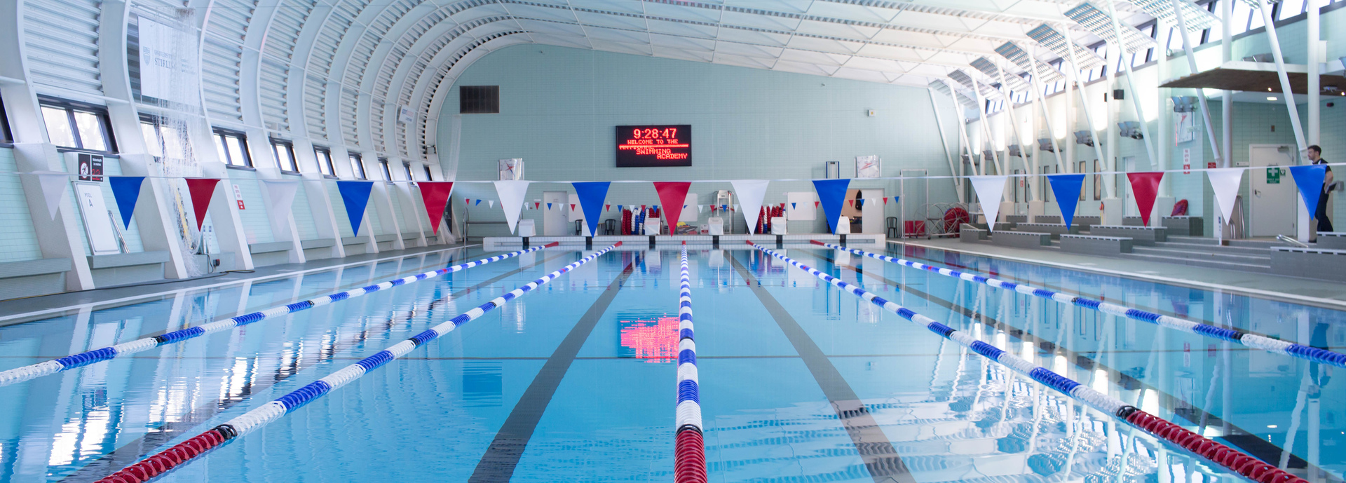 National Swimming Academy's pool