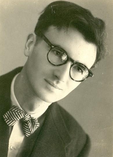 Norman McLaren portrait
