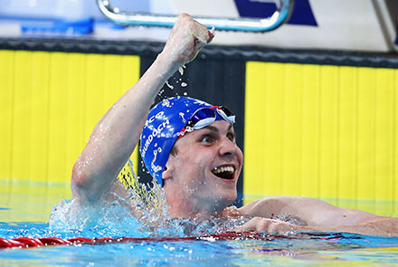 University Of Stirling Student Ross Murdoch Wins Gold And