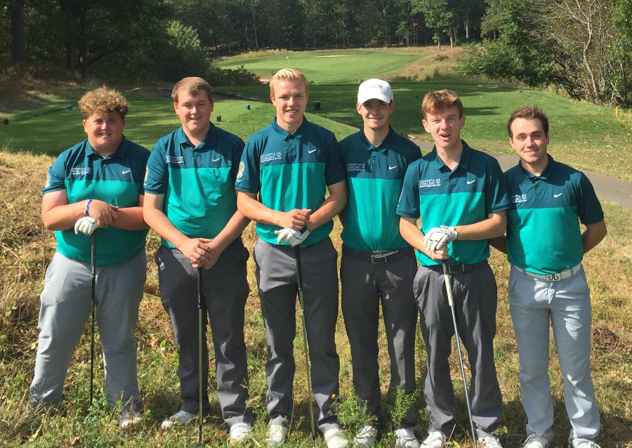 Golf team take on USA giants at Yale – University of Stirling